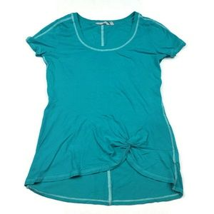 ATHLETA knotted front top size SMALL